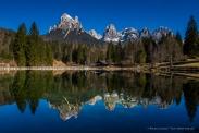 Laghetto Welsperg, Val Canali - Nikon D810, 24mm (14-24mm ƒ/2.8) 1/200sec ƒ/11 ISO 200