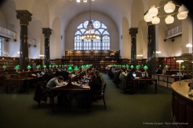 Black Diamond, Kongelige Bibliotek, Copenaghen 2015 - Nikon D810, 16mm (16-85mm ƒ3.5-5.6) 1/80 ƒ/5.6 ISO 3200