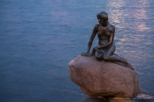 Copenaghen, Kastellet, La Sirenetta - Nikon D810, 70mm (24-70.0 ƒ/2.8) 1.0sec ƒ/3.2 ISO 800