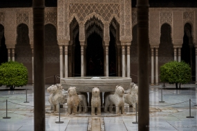 Alhambra, Granada, Corte dei Leoni, aprile 2015 - Nikon D810, 85mm (85.0mm ƒ/1.4) 1/500sec ƒ/2.5 ISO 64