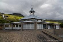 The church in Eskifjördur. Nikon D810, 24 mm (24-120.0 mm ƒ/4) 1/1000 sec ƒ/8 ISO 400