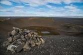 Landmark on the top of the caldera. Nikon D810, 24 mm (24-120.0 mm ƒ/4) 1/125 sec ƒ/8 ISO 64