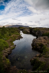 Over two weeks a year, the assembly set laws - seen as a covenant between free men - and settled disputes. Þingvellir National Park. Nikon D810, 24 mm (24-120.0 mm ƒ/4) 1/400 sec ƒ/5.6 ISO 64