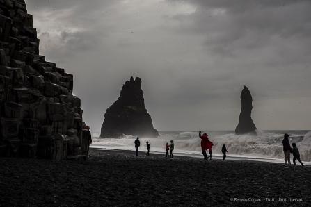Reynisdrangar, Reynisfjara Beach and the Troll Rocks. Nikon D810, 70 mm (24-120.0 mm ƒ/4) 1/60 sec ƒ/16 ISO 64