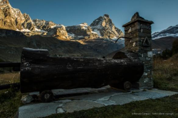 The Matterhorn from Breuil -Cervinia. Nikon D810, 24mm (24.0mm ƒ/1.4) 1/80 ƒ/8 ISO 64