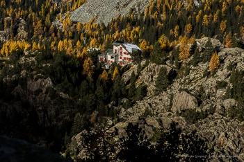 Rifugio Zoia a Campo Moro. Nikon D810, 24mm (24 mm ƒ/1.4) 1/80 sec ƒ/8 ISO 64