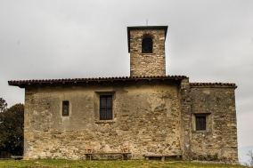 Garbagnate Monastero, Chiesa di S. Martino. Nikon 810, 24 mm (24.0 mm ƒ/1.4) 1/30 sec ƒ/8 ISO 64