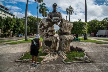 "Monument to Omar Torrijos, Avenida de los Presidentes. Nikon D810, 24 mm (24-120.0 ƒ/4) 1/200"" ƒ/20 ISO 400."