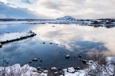 """Þingvallavatn in Thingvellir is the largest natural lake in Iceland. Nikon D810, 24 mm (24.0 mm ƒ/1.4) 1/250"""" ƒ/3.5 ISO 64"""