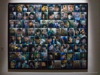 """Michael Wolf, """"Tokyo Compression Multiple"""", Horizontal, 2009. Canon G1 X"""