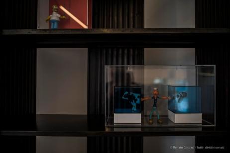 """""""Up In The Sky"""", l'esibizione curata dalla Galleria Rossana Orlandi in un attico del complesso disegnato da Daniel Libeskind nel comprensorio della ex-Fiera di Milano. Nikon D810 24 mm (24 mm ƒ/1,4) 1/40"""" ƒ/1.4 ISO 64"""