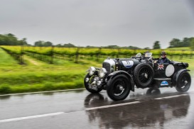 """Goffrey and Richard Ford (GB) on a 1930 BENTLEY 4.5 LITRE SUPERCHARGED. Nikon D810, 24 mm (24.0mm ƒ/1.4) ) 1/125"""" ƒ/3.5 ISO 64"""