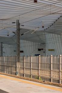 """Santiago Calatrava. Reggio Emilia, Stazione AV Mediopadana. Nikon D750, 105 mm (105.0 mm ƒ/2.8) 1/125"""" ƒ/8,0 ISO 100"""