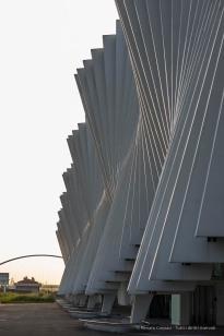 """Santiago Calatrava. Reggio Emilia, Stazione AV Mediopadana. Nikon D750, 105 mm (105.0 mm ƒ/2.8) 1/60"""" ƒ/8,0 ISO 100"""