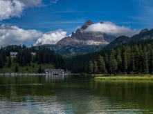 "Misurina Lake. Canon Powershot G1X 30.337 mm (15.1-60.4 mm ƒ/2.0-5.8) 1/160"" ƒ/13 ISO 100"