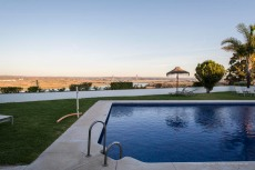 """Ayamonte. Pool-side over the border with Portugal from the Parador de Turismo. Nikon D810 24 mm (24 mm ƒ/1.4) 1/15"""" ƒ/11 ISO 64"""