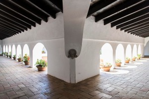 """Palos de la Frontera, Monastey of Santa Maria de la Ràbida.Nikon D810 24 mm (24-120 mm ƒ/4) 1/125"""" ƒ/5.6 ISO 800"""