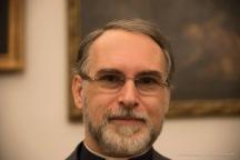 """Alberto Rocca, Direttore Pinacoteca Ambrosiana. Nikon D750, 85 mm (24-120 mm ƒ/4) 1/100"""" ƒ/4 ISO 6400"""