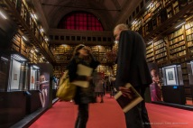 "Biblioteca Ambrosiana, Milano, Sala Federiciana, where the show takes place. Nikon D750, 24 mm (24-120 mm ƒ/4) 0,6"" ƒ/4 ISO 640"
