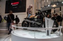 "Yamaha booth. Nikon D750 24 mm (24-120.0 mm ƒ/4) 1/4"" "" ƒ/22 ISO 100"