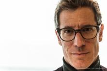 "Guido Comis, curator of the Meret Oppenheim exhibit. Lugano February 2017. Nikon D810, 85 mm (24-120 mm ƒ/4) 1/80"" ƒ/8 ISO 640"