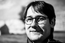 """Davide Dotti, Art critic, curator """"Da Hayez a Boldini"""". Palazzo Martinengo, Brescia. January 2017. Nikon D810, 85 mm (85 mm ƒ/1.4) 1/100"""" ƒ/1.4 ISO 400"""