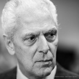Marco Tronchetti Provera, businessman. CEO of Pirelli & C. S.p.A, Milano, January 2017. Nikon D810, 85 mm (85.o mm ƒ/1.4) 1/100 ƒ/1.4 ISO 1250