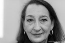 Julia Gruen, director Keith Haring Foundation, February 2017. Nikon D810, 85 mm (85.0 mm ƒ/1.4) 1/160 ƒ/1.4 ISO 400