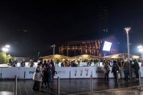 "Chrismas pattinoire in Piazza Gae Aulenti in Milan, December 2016. Nikon D750, 24 mm (24-120.0 mm ƒ/4) 1/20"" ƒ/6.3 ISO 1000"