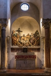 "Milano, chiesa di Santa Maria in San Satiro. ""Lament Over The Corps of Christ"" (1483) by Agostino De Fundulis Nikon D750, 24 mm (24.0 mm ƒ/1.4) 1/8"" ƒ/8 ISO 3200"