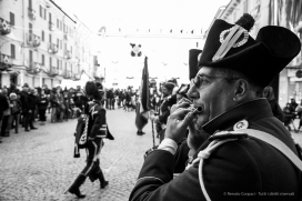 """The Fifes and Drums of the First Battalion Hunters. Nikon D810, 31 mm (24-120 mm ƒ/4) 1/125"""" ƒ/5.6 ISO 400"""