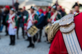 """The Fife and Drum Corps of the First Battalion Hunters. Nikon D810, 70 mm (24-120 mm ƒ/4) 1/160"""" ƒ/6.3 ISO 400"""