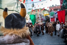 """The Vikings in visit to the Borghetto. Nikon D810, 24 mm (24-120 mm ƒ/4) 1/100"""" ƒ/5.6 ISO 100"""