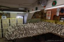"""Cod and onions ready to be processed at the Comitato della Croazia Polenta e Merluzzo. Nikon D810, 24 mm (24-120 mm ƒ/4) 1/100"""" ƒ/8 ISO 2500"""