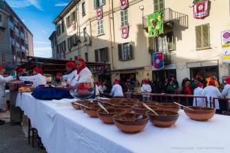 """The """"Fagiolata del Castellazzo"""" in Piazza Maretta on Sunday during Carnival. Nikon D810, 24 mm (24-120 mm ƒ/4) 1/200"""" ƒ/8 ISO 200"""