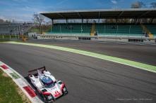 """Timo Bernhard on Porsche 919 Hybrid entering the Parabolica. Nikon D810, 20 mm (20 mm ƒ/1.8) 1/1250"""" ƒ/4 ISO 64"""