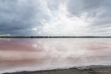 """Due to a higher and higher concentration of sodium chloride, salt crystals form as a thin, delicate crust on the surface of seawater as it evaporates. That's what is called """"Flor de Sal"""" at its purest form. Salinas d'Es Trenc, isola di Mallorca. Nikon D810, 24 mm (24.0-120.0 mm ƒ/4) 1/160 ƒ/8 ISO 250"""