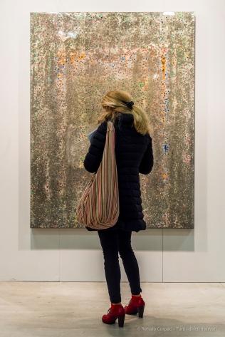 Opening of Grand Art art show in Milano, November 2017. Nikon D810, 55 mm 24-120.0 mm ƒ/4) 1/125 ƒ/5.6 ISO 3200